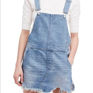 Free People overall dress-never been worn!